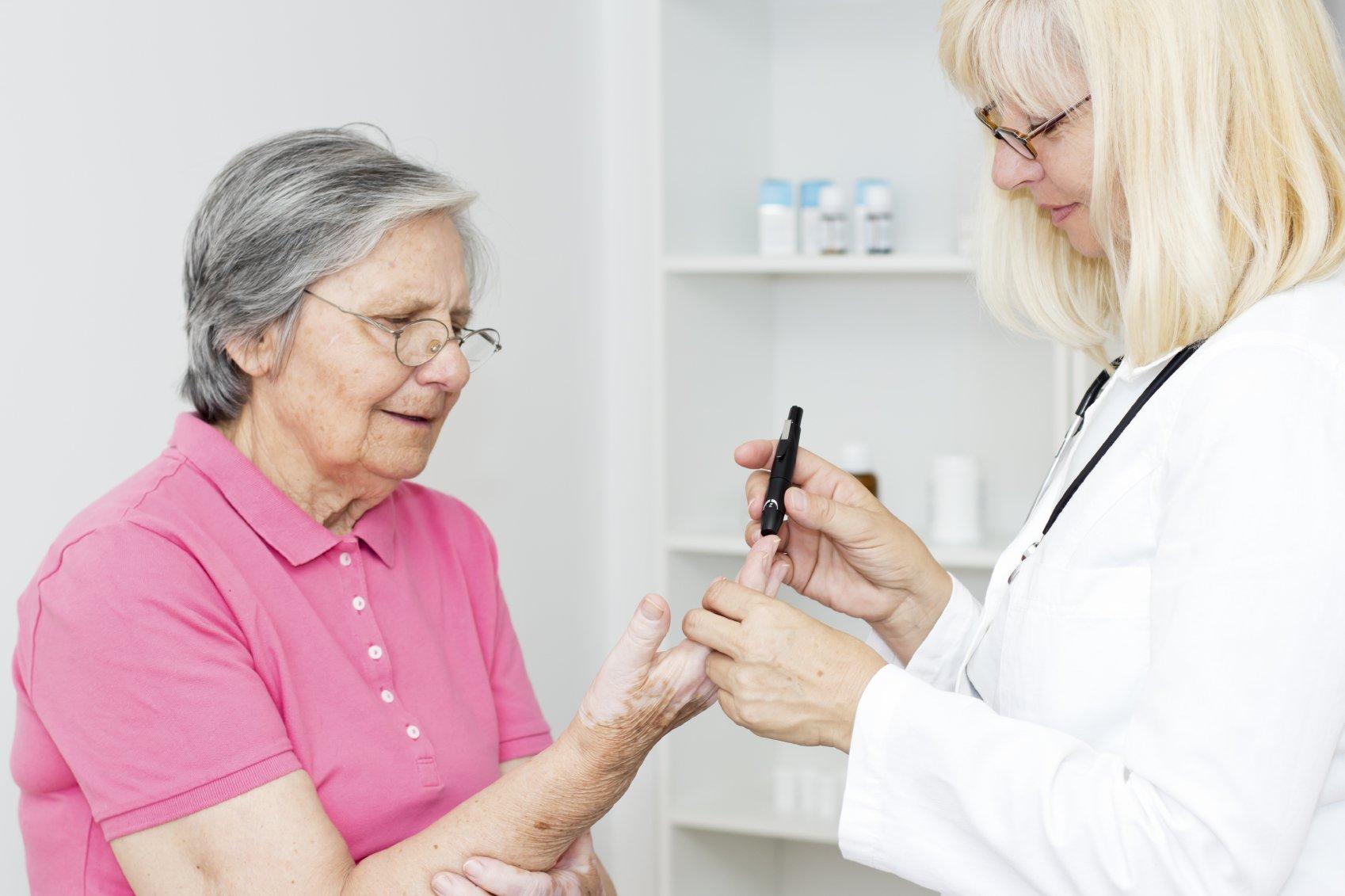 Средство для лечения диабета сахарного у пожилых